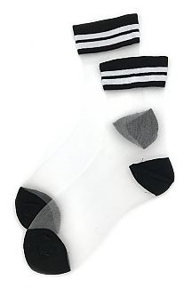 White See Thru Socks