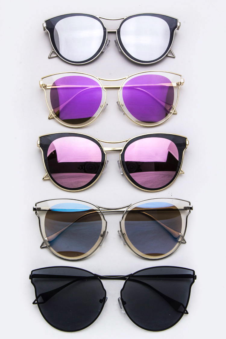 Iconic Split Tone Lens Cat Eye sunglasses